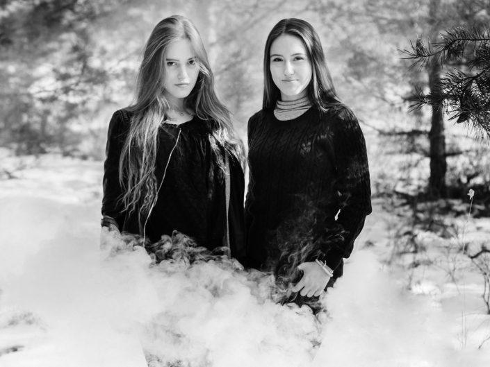 Anni und Daria // Wintershooting